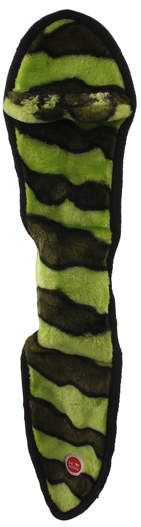 Hračka Dog Fantasy Skinneeez EXTREME had zelený 50cm