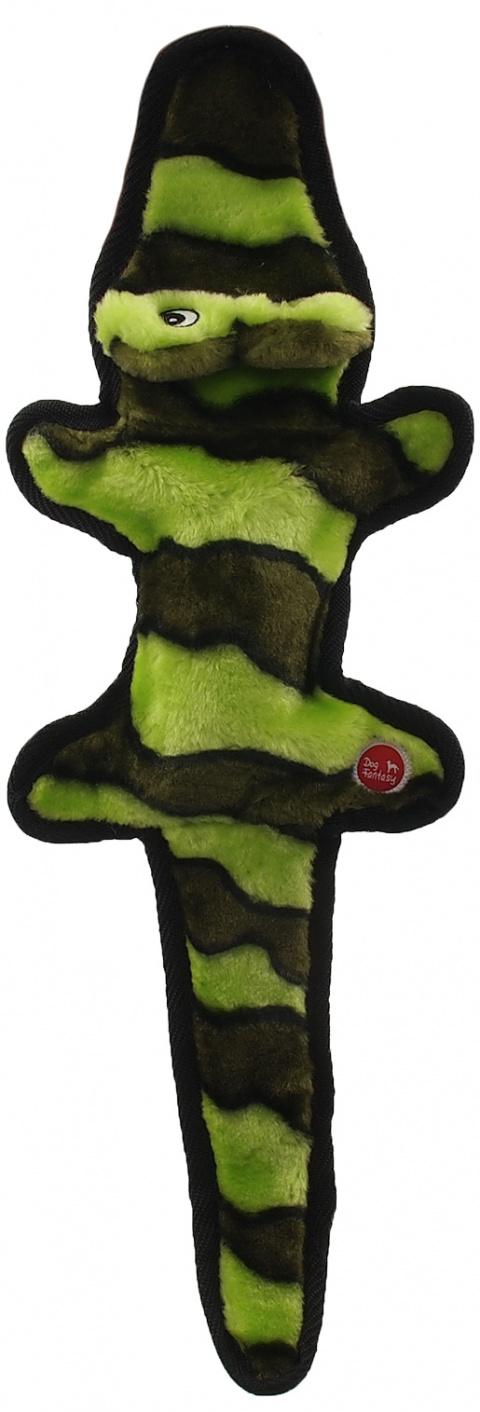 Hračka Dog Fantasy Skinneeez EXTREME krokodýl zelený 50cm