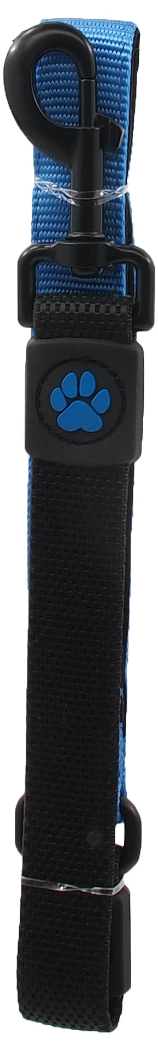 Vodítko Active Dog Bungee Neoprene L modré 2,5x55cm