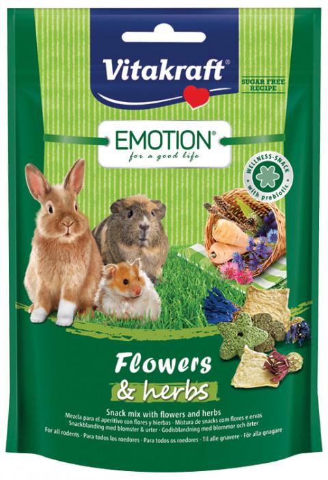 Vitakraft Emotion květy & bylinky 70g