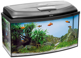 Akvárium AQUAEL CLASSIC LED panoramatické 80x35x40cm 102l