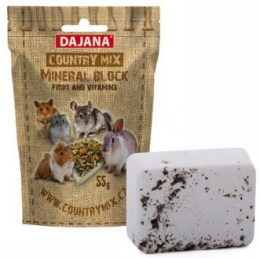 Dajana Country Mix Mineral block fruit+vitamins