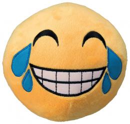 Hračka smajlík Laughing velký plyš 14cm