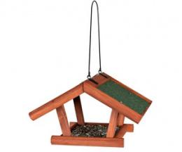 Krmítko pro venkovní ptactvo dřevěné I