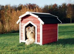Bouda Trixie Country 71×69×75cm červeno-bílá