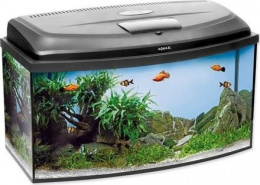 Akvárium CLASSIC LED panoramatické 60x30x30cm, 45l