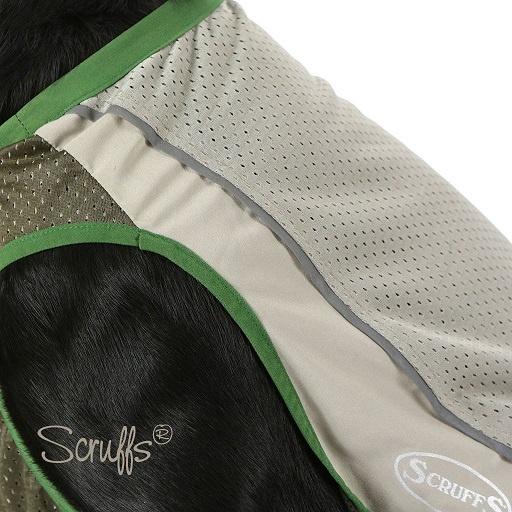 Vesta Scruffs Insect Shield Vest L hnědá