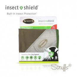 Deka Scruffs Insect Shield Blanket 145x110cm hnědá