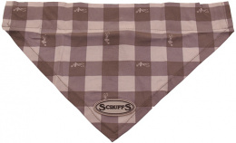 Šátek Scruffs Insect Shield Bandana L hnědý