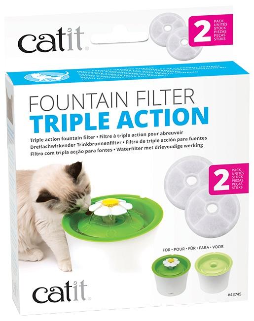 Náplň filtr. Catit 2.0 Triple Action 2ks