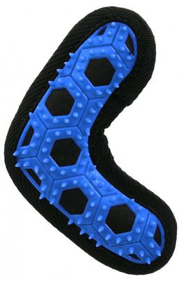 Hračka Dog Fantasy Hextex bumerang modrá 13,5cm