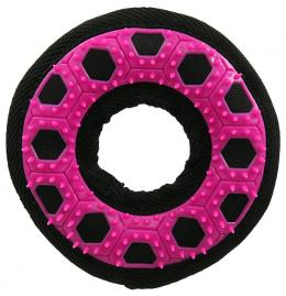 Hračka Dog Fantasy Hextex kruh růžová 13cm