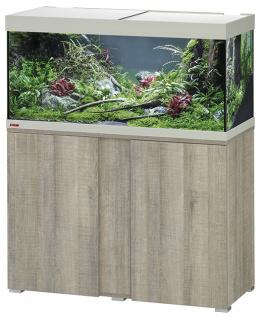 Akvárium se skříňkou Eheim Vivaline LED dub šedý 180l
