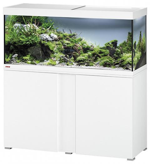 Akvárium se skříňkou Eheim Vivaline LED 240l bílá title=