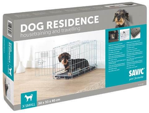 Klec SAVIC Dog Residence 50 x 33 x 40 cm