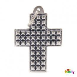 Známka My Family BRONX kříž extra velký Studs
