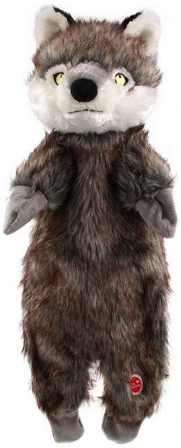 Hračka Dog Fantasy Skinneeez vlk plyš 50cm