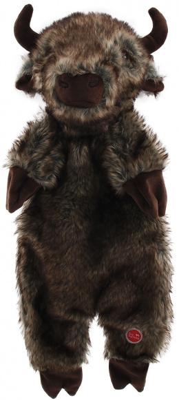 Hračka Dog Fantasy Skinneeez bizon plyš 50cm