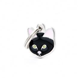Známka My Family Friends Evropská kočka krátkosrstá černá