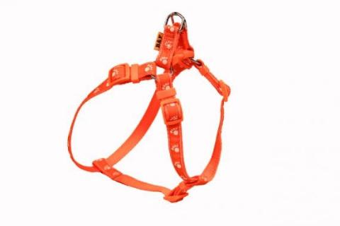 Kšírky popruh TLAPKY 15mm oranžová