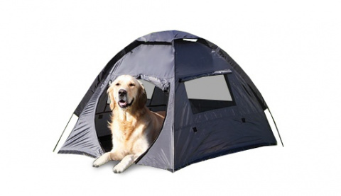Stan pro psy Trixie T-camp 88*72*115cm  šedá