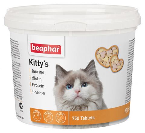Pochoutka Beaphar Kitty´s Mix 750 tablet