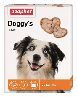 Beaphar Doggy´s s játry 75 tablet