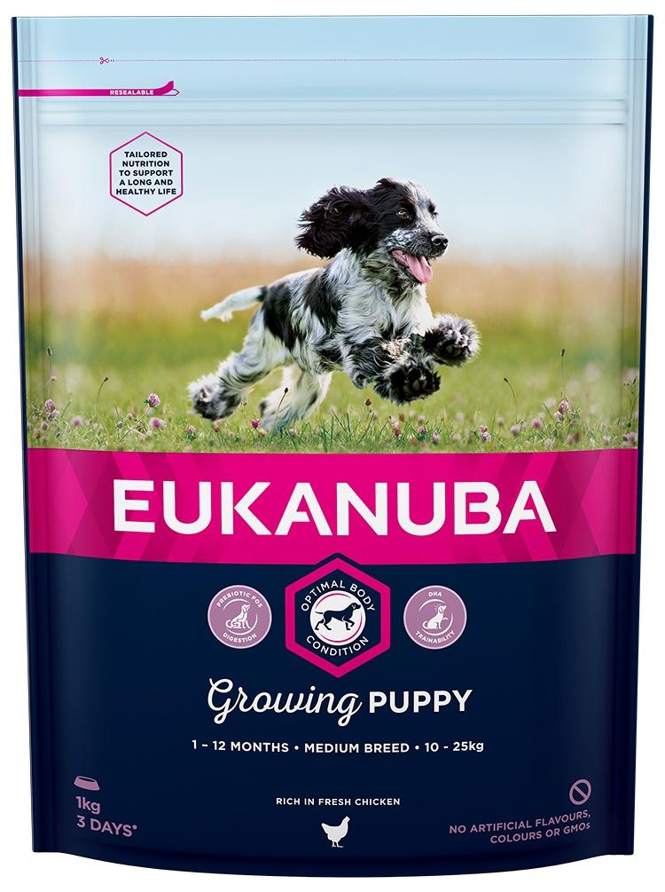 Eukanuba Puppy Medium 1kg