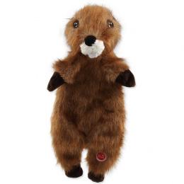 Hračka Dog Fantasy Skinneeez bobr plyš 34cm