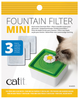 Filtrační náplň do fontány Mini 3ks