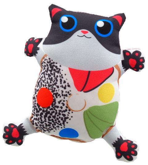 Hračka Let´s Play kočka s catnip č.3, 14cm title=