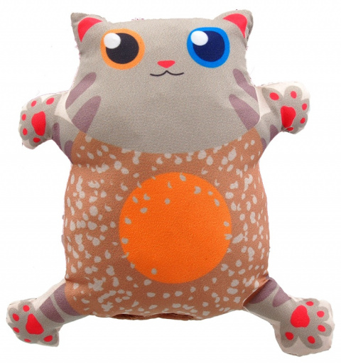 Hračka Let´s Play kočka s catnip č.1,  14cm title=