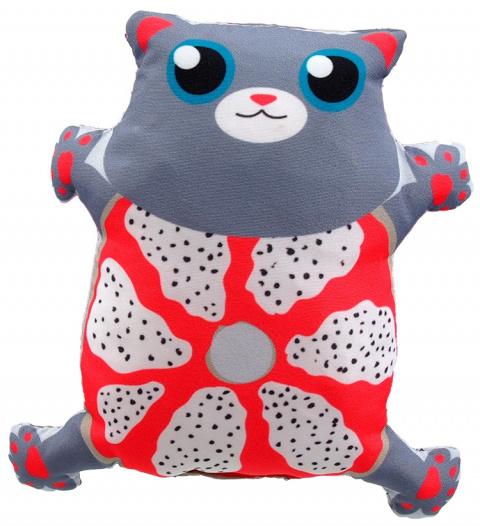Hračka Let´s Play kočka s catnip č.4, 14cm title=