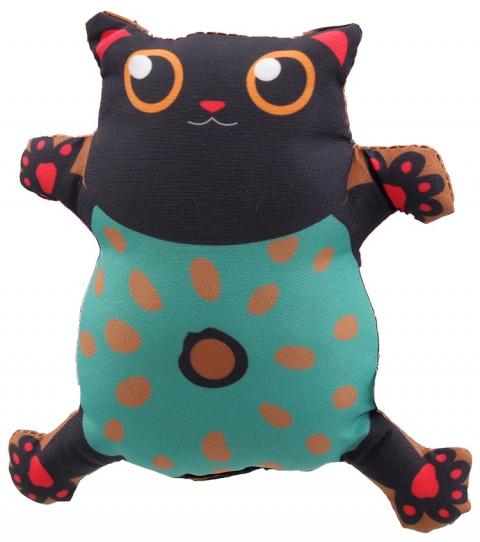 Hračka Let´s Play kočka s catnip č.5, 14cm title=