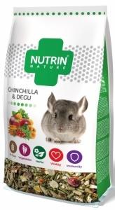 Kompletní krmivo NUTRIN Nature činčila & osmák 750g