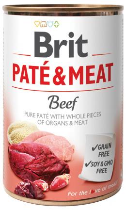 Konzerva Brit Paté & Meat Beef 400g