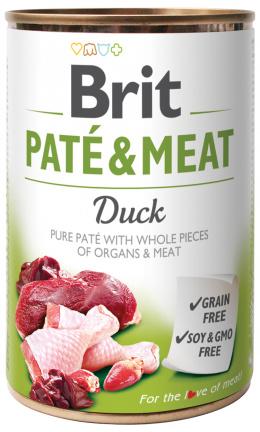 Konzerva Brit Paté & Meat Duck 400g