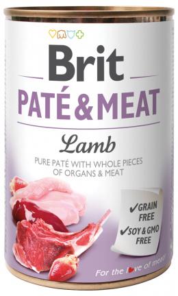 Konzerva Brit Paté & Meat Lamb 400g