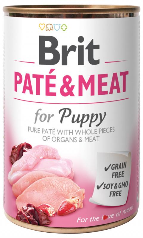 Konzerva Brit Paté & Meat Puppy 400g title=