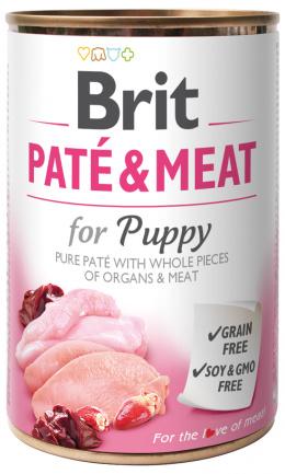 Konzerva Brit Paté & Meat Puppy 400g