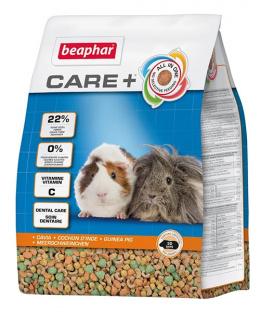 Krmivo Beaphar CARE+ Morče 1,5 kg + Beaphar Care věrnostní karta + Beaphar Care nálepka