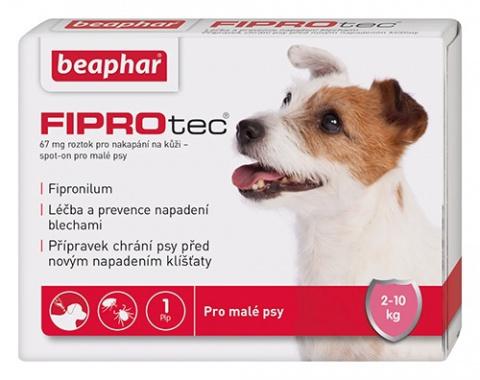 Spot on Fiprotec pro psy S 2-10kg