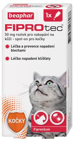 Beaphar Fiprotec spot on pro kočky nad 1 kg + FIPROtec akce 1+1