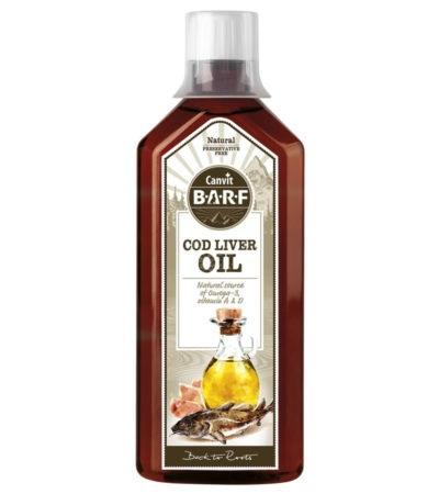 Olej z tresčích jater Canvit BARF Cod Liver Oil 0,5l