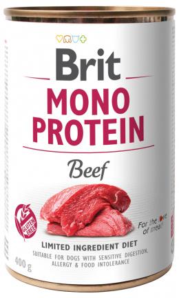 Konzerva Brit Monoprotein Beef400g