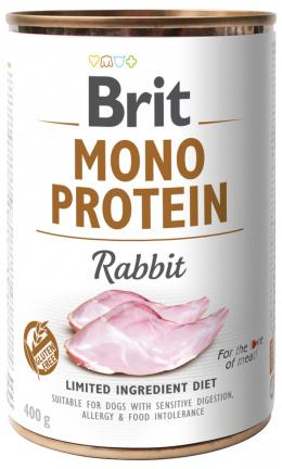 Konzerva Brit Monoprotein Rabbit 400g
