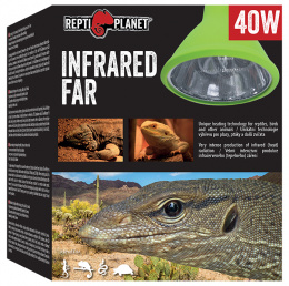 Repti Planet žárovka Far Infrared HEAT Projector 40W