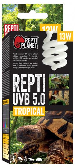 Repti Planet žárovka Compact-Fluorescent  UVB 5.0 13W