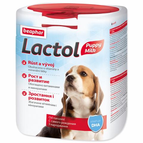 Sušené mléko Beaphar Lactol Puppy Milk 500 g   title=