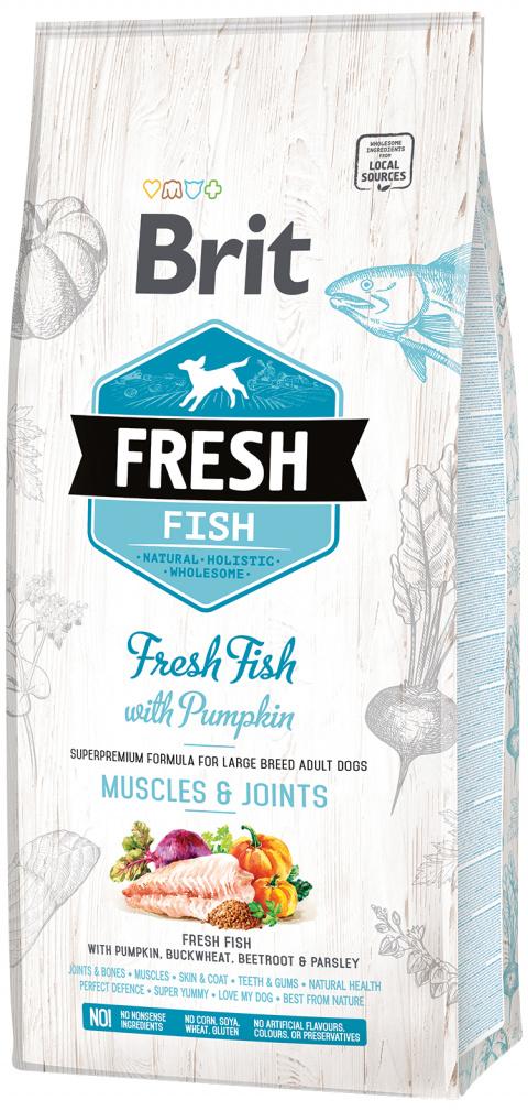 Brit Fresh Fish with Pumpkin Adult Large 12kg